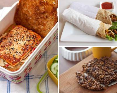 Kids School Lunch Box Menu Plan-Chettinad Pulao, Rajma Wrap, Palak Paneer & More