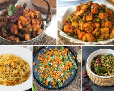 270 - No Onion No Garlic Dry Sabzi Recipes From Across India