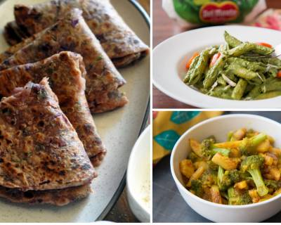 Office Lunch Box Menu Plan-Cabbage and Methi Paratha, Nellikai Chitranna & More