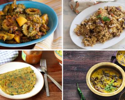 Office Lunch Box Menu Plan-Foxtail Millet Pilaf, Lauki Yakhni & More