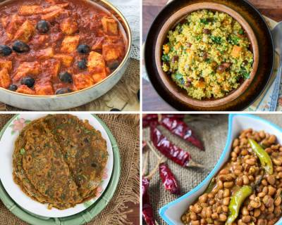 Office Lunch Box Menu Plan-Methi Thepla, Foxtail Millet Lemon Rice & More