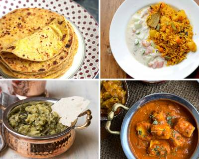 Office Lunch Box Menu Plan-Mushroom Paratha, Vegetable Biryani & More