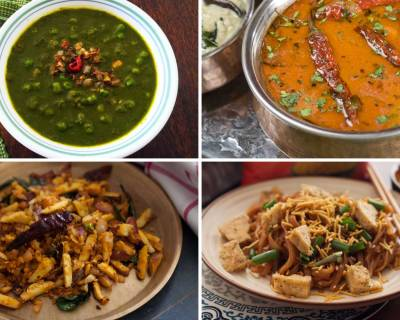 Office Lunch Box Menu Plan-Varutharacha Sambar,Paneer in Spiced Milk Curry & More