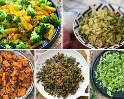 136 Quick & Easy South Indian Dry Vegetable Recipes Under 30 Minutes