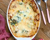 Spinach & Corn Lasagna Recipe