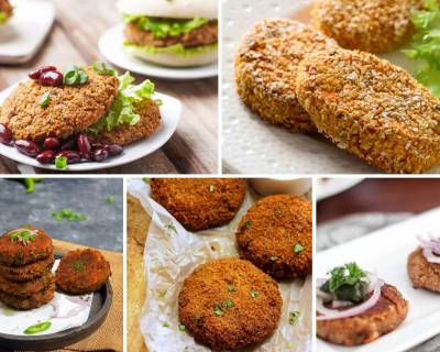 24 Scrumptious Vegetarian Cutlet Recipes Perfect For Tea Time Evening Snack