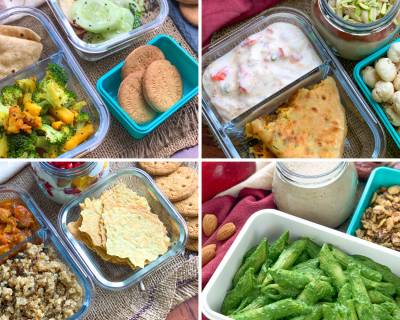 12 Office Lunch Box Videos With Healthy Office Snacks & Lunch