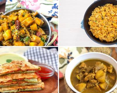 Weekly Meal Plan - Mushroom Pulav, Thai Yellow Curry And Much More