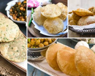 Collection of Puri Recipes That You Can Serve Along Chole & Sabzi
