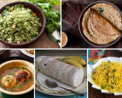 12 South Indian Breakfast Recipes Other Than Idli, Dosa, Uttapam And Vada
