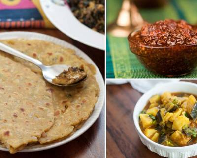 5 Thepla, Shaak & Achar Meal Ideas For Lunch Or Dinner