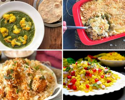 Weekly Meal Plan - Kabuli Chana Biryani, Indori Poha And Much More