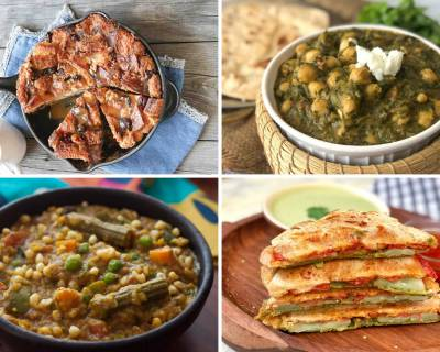 Weekly Meal Plan - Sarson Chole Ka Saag, Bisi Bele Bath And Much More