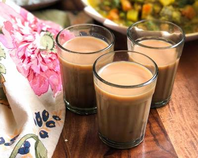 Gulkand Chai Recipe - A Delicious Rose Flavored Indian Tea