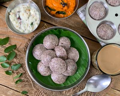 Ragi Idli Recipe - Learn How To Make A Healthy Ragi Idli