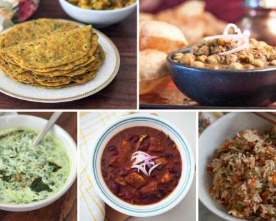 Weeknight Dinners : Make Your Meals With Chola Bhatura, Arbi Paratha And More