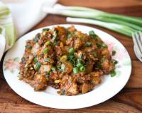 Chinese Oats with Sweet & Spicy Chili Potato Recipe