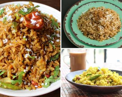 15 Poha Recipes From Different Regions Of India