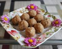 Churma Ladoo Recipe With Badam & Flaxseed - High Protein Snack