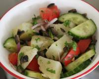 Italian Style Potato And Cucumber Salad Recipe