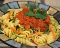 Zucchini and Carrot Pasta Recipe