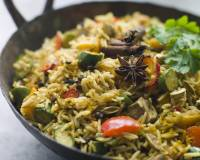 Vegetable Biryani Recipe With Chatpata Aloo
