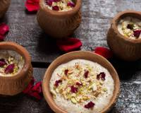 Thandai Phirni Recipe - A Delicious Indian Rice Dessert