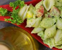 Avocado Parsley Pasta Salad Recipe