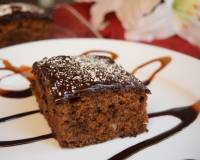 Eggless Whole Wheat Cake with Chocolate Buttercream Frosting Recipe