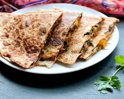 Bean Spinach And Corn Quesadilla Recipe