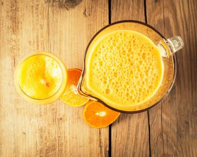 Homemade Fresh Orange Juice Recipe