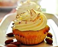 Kesar Badam Cupcakes With Shrikhand Recipe