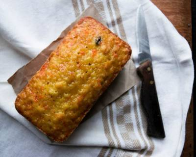 Carrot And Orange Loaf Cake Recipe