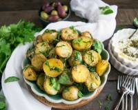 Herbed Baby Potatoes Recipe