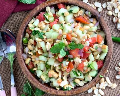 Peanut Cucumber Salad Recipe