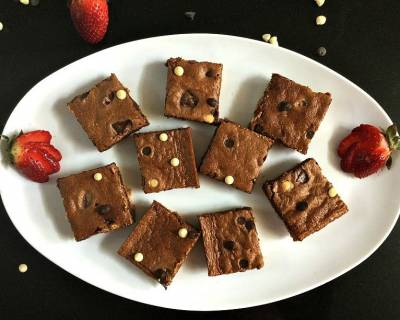 Double Chocolate Brownie Bars Recipe