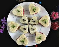 Heart Shaped Tea Sandwiches Recipe
