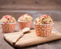 Whole Wheat Strawberry Banana Muffins Recipe