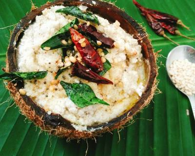 South Indian Coconut Chutney Recipe With Coconut Water