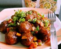 Chinese Vegetable Dry Manchurian Balls Recipe (No Onion No Garlic)