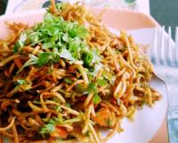Chinese Bhel Recipe - No Onion No Garlic