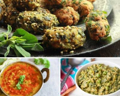 9 Methi (Fenugreek Leaves) Recipes You Should Try For Your Everyday Meals