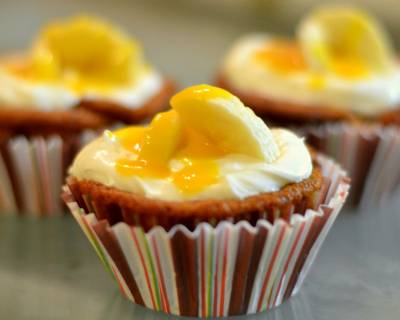 Hidden Banana Cupcake Recipe