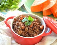 Vegetarian Mexican Chili for Tacos Recipe - Made from Horse Gram