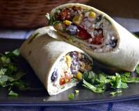 Healthy Black Bean Stuffed Burrito Recipe With Amaranth And Quinoa