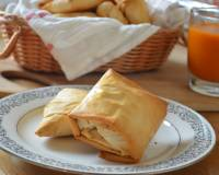 Baked Potato & Peas Samosa With Phyllo Pastry Recipe
