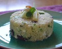 Couscous Salad With Cucumber And Feta Cheese Recipe