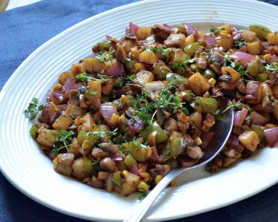 Vegetarian Potato Hash Recipe