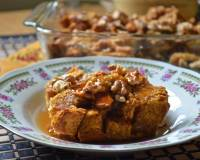 Overnight Pumpkin French Toast Baked Casserole Recipe