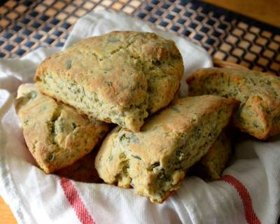 Parmesan And Fresh Herbs Savoury Scones Recipe